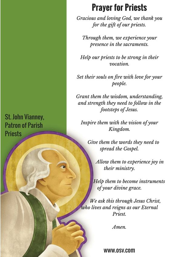 prayer for priests