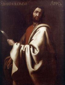 Saint Bartholomew the Apostle San Bartolomé By Gregorio Bausá (1590-1656