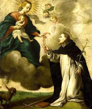 Saint Dominic And The Rosary 2