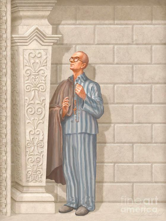 Saint Maximilian Kolbe by John Alan Warford