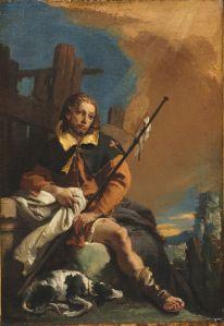 Saint Roch As A Pilgrim