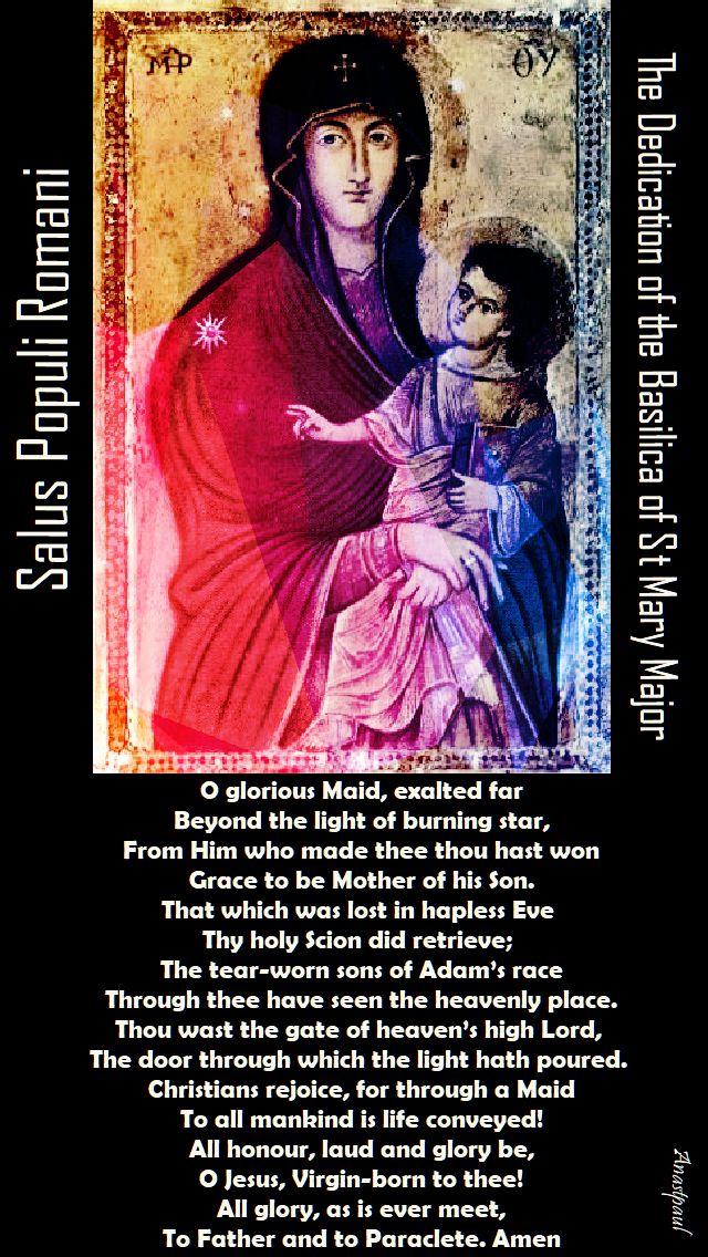 Salus Populi Romani - prayer