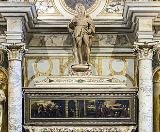 Tomb of St Roch in San Rocco in Venice