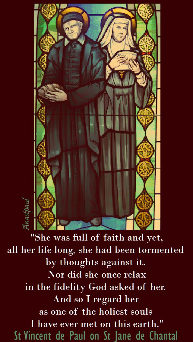 she was full of faith and yet - st vincent de paul