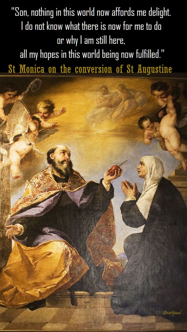 son, nothing in this world - st monica