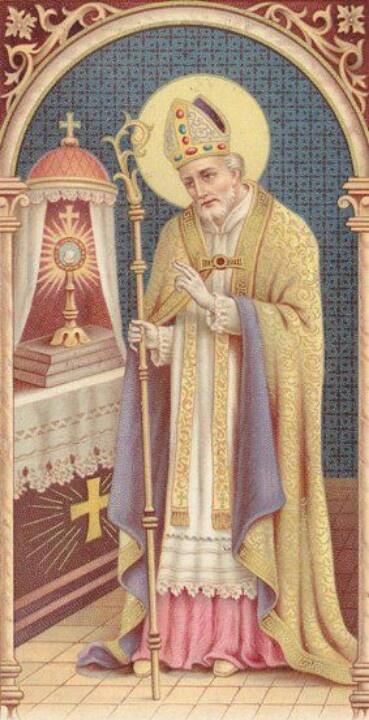 ST ALPHONSUS - HOLYCARD