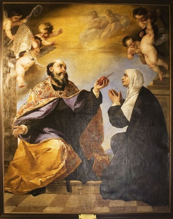 St Augustine and St. Monica (1)