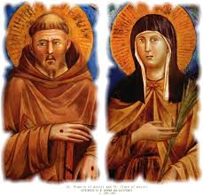 ST CLARE AND ST FRANCIS