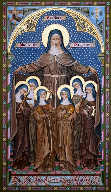 ST CLARE AND THE POOR CLARES