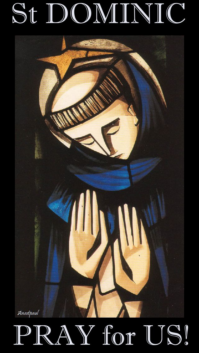 st dominic pray for us 2