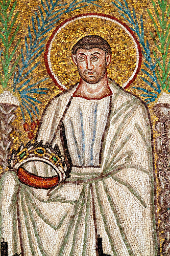 22.4.2010: south wall, Sant'Apollinare Nuovo, Ravenna