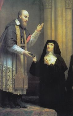 st jane and st francis de sales - giving the Rule