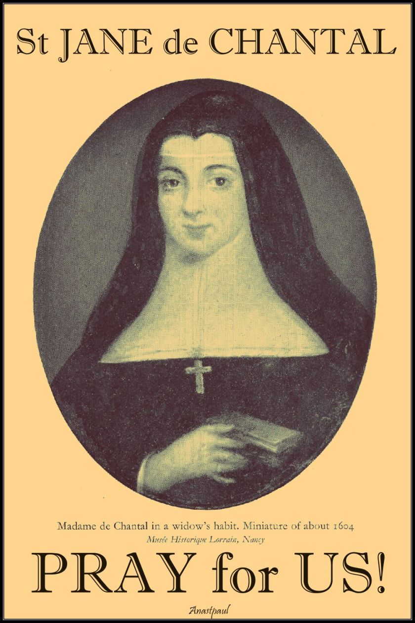 st jane de chantal - pray for us 2