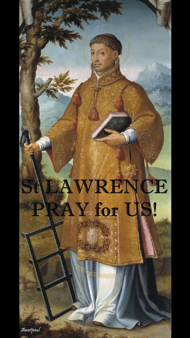 ST LAWRENCE PRAY FOR US.2