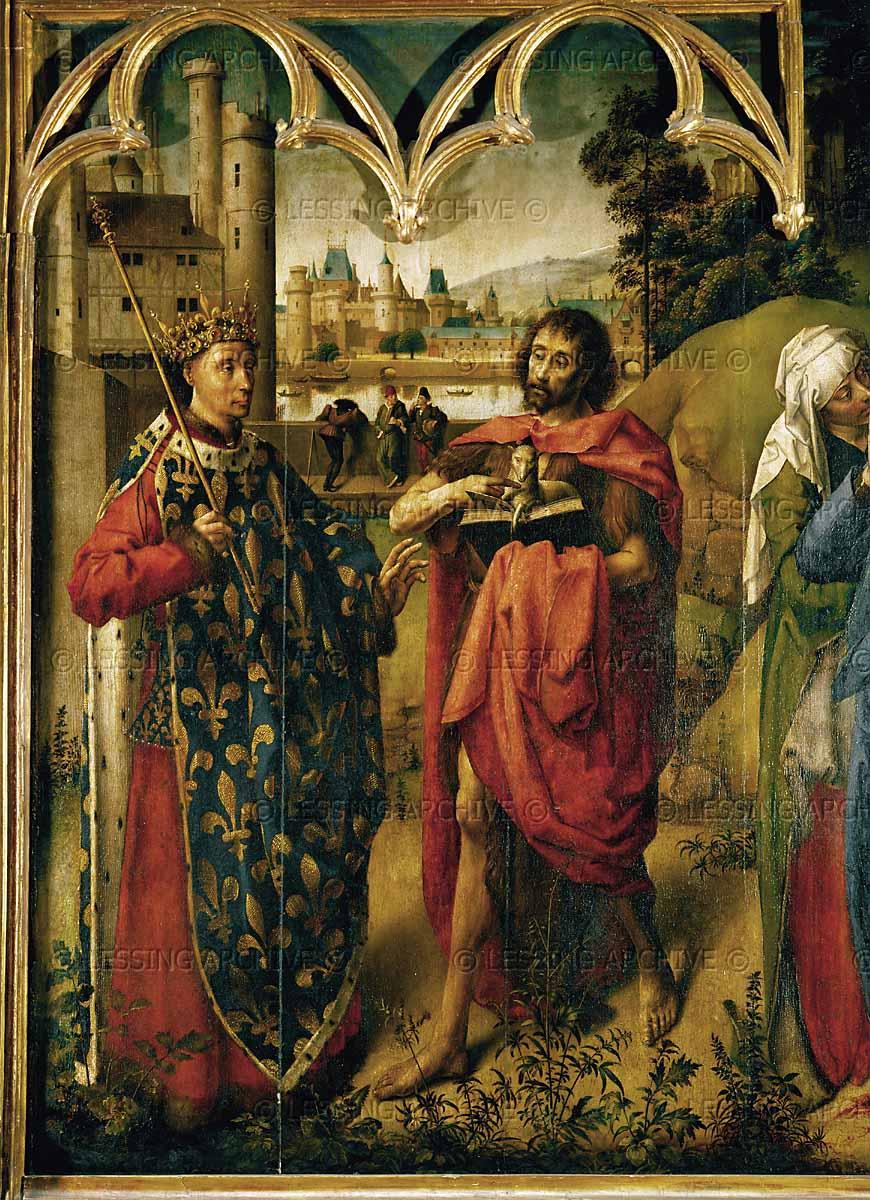 St. Louis IX and St. John the Baptist