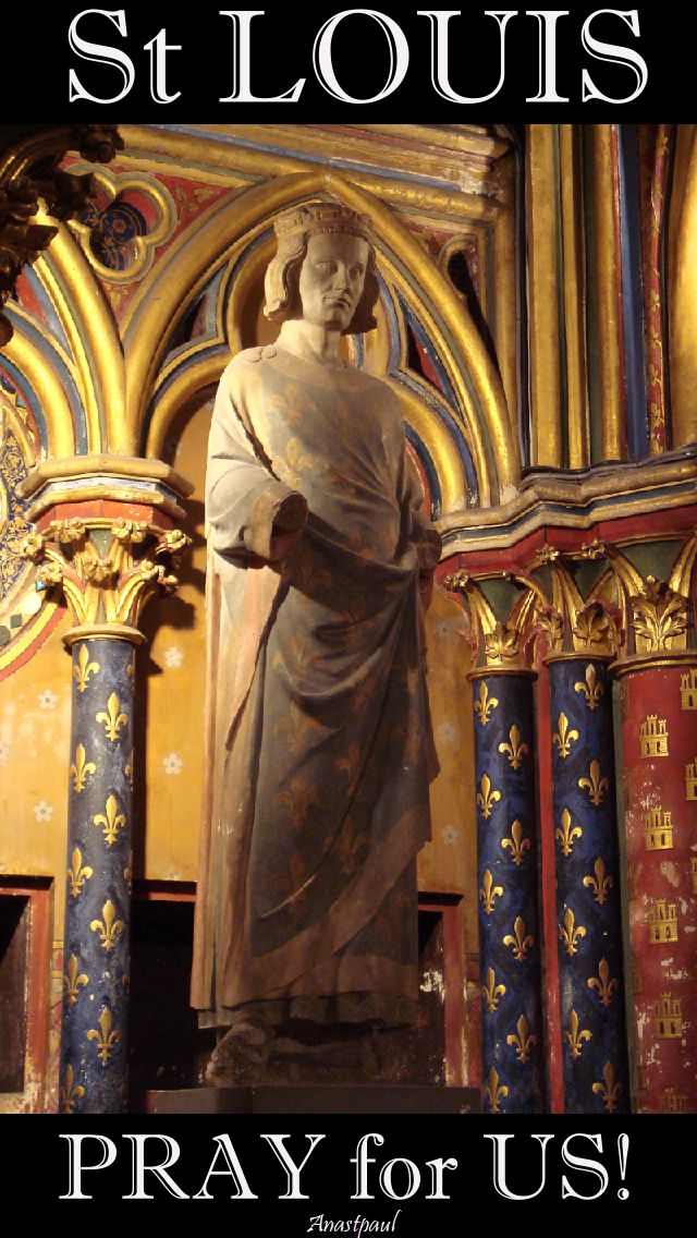 st louis pray for us