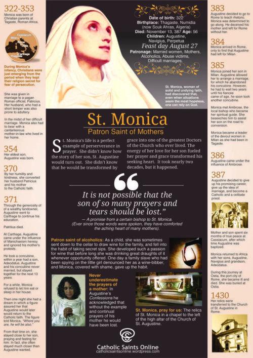 st monica info
