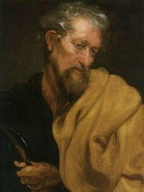 St. Nathanael, is St. Bartholomew.-ANTHONY VAN DYCK