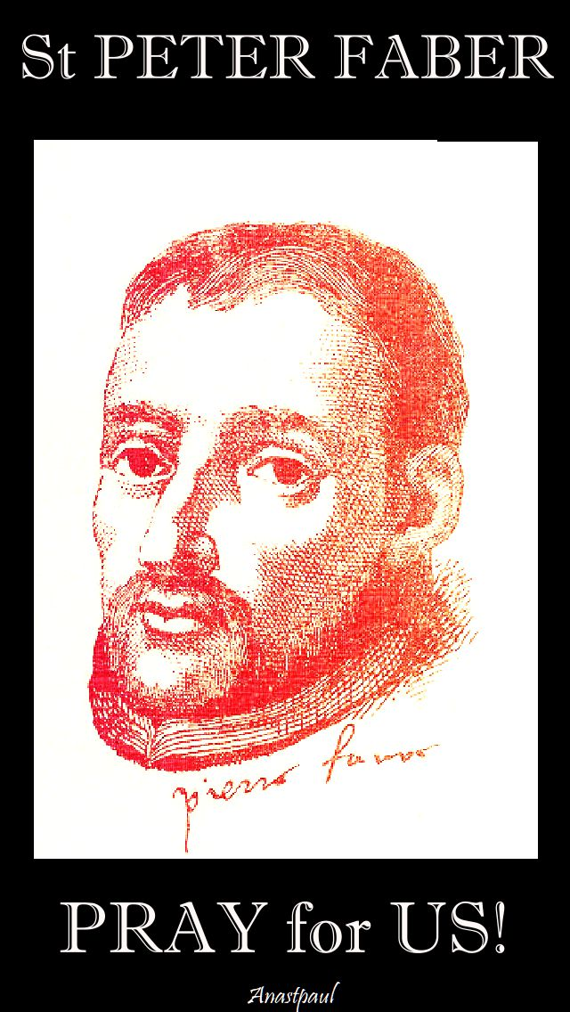 st peter faber pray for us