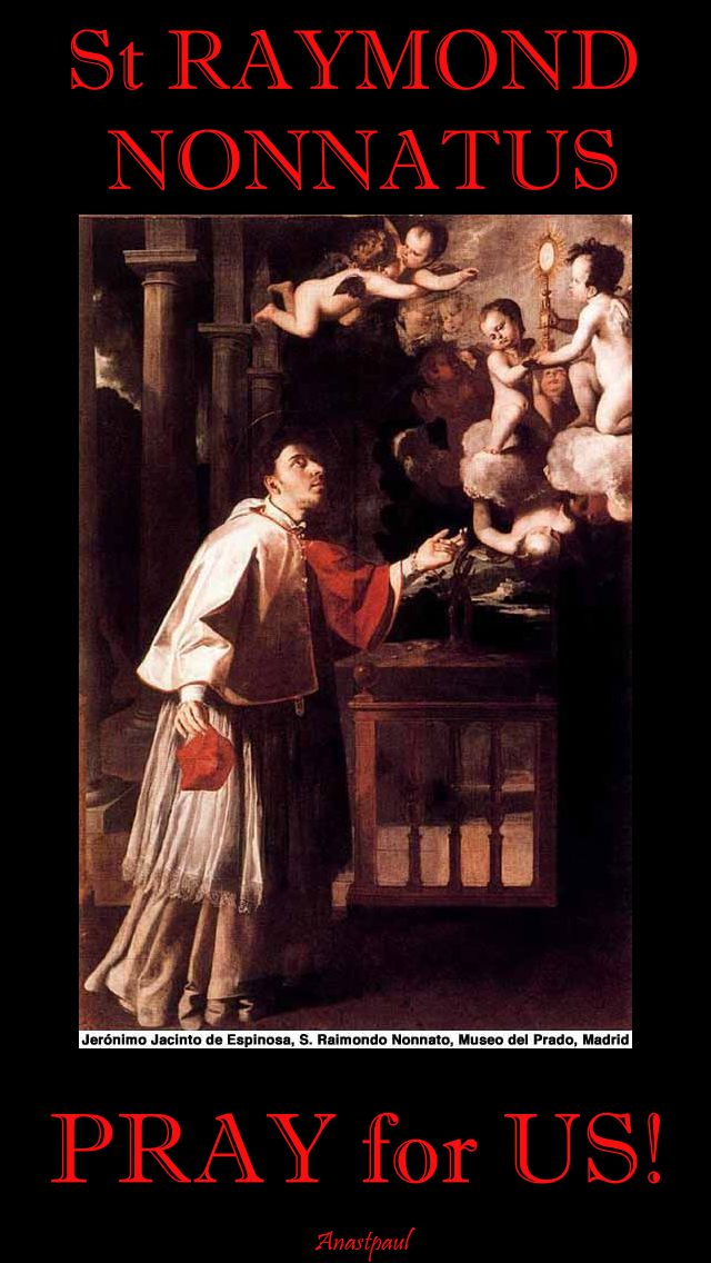 st raymond nnonnatus pray for us