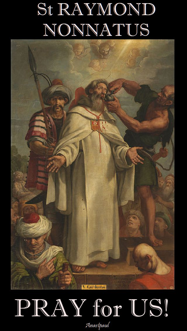 st raymond nonnatus pray for us 2