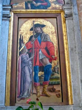 ST ROCH by Bartolomeo Vivarini (1480