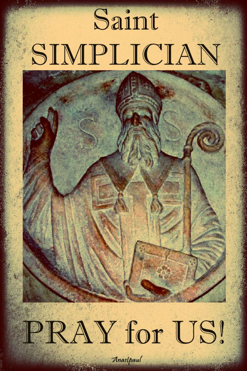 st simplician pray for us 2