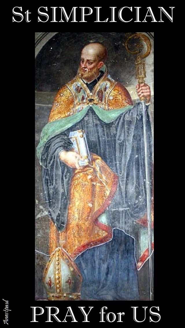 st simplician - pray for us