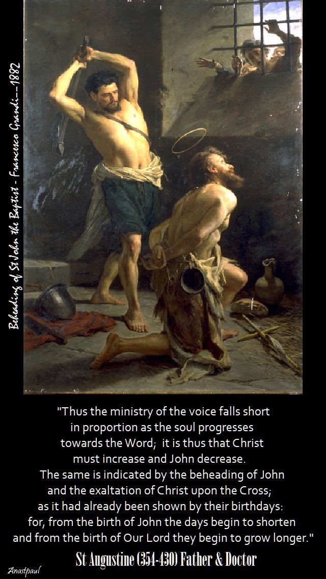 thus the ministry of th voice falls short - st augustine
