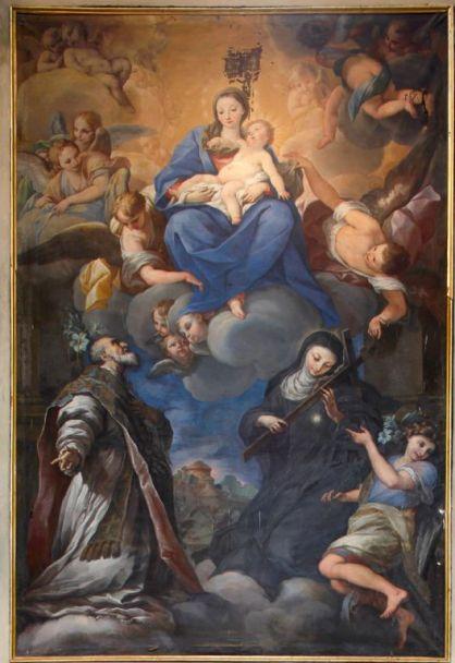 Vision of St. Philip Benizi 2