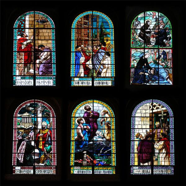 WINDOWS of Basilica of Saint Simplician