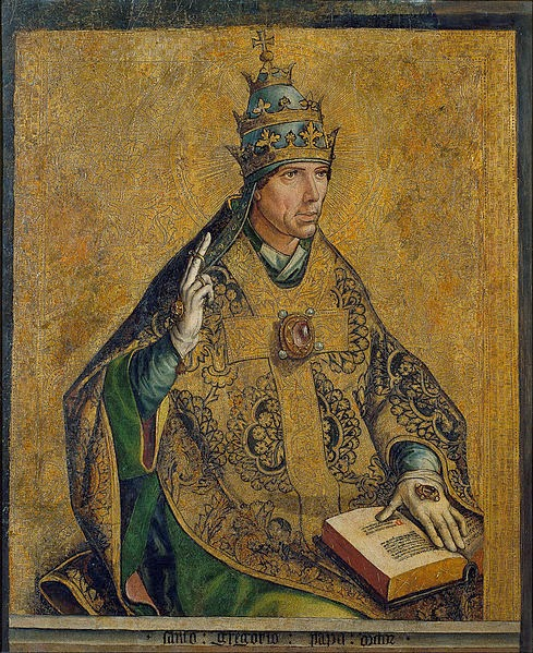 Berruguete_1495-_Saint_Gregory_the_Pope_
