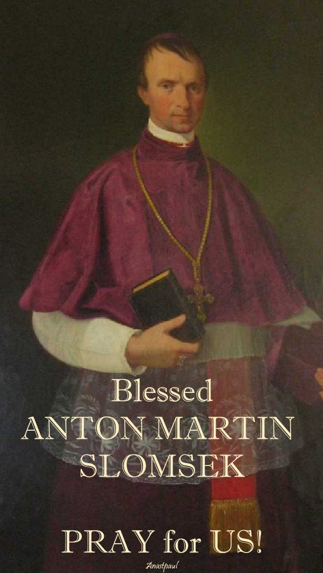 bl anton martin - pray for us