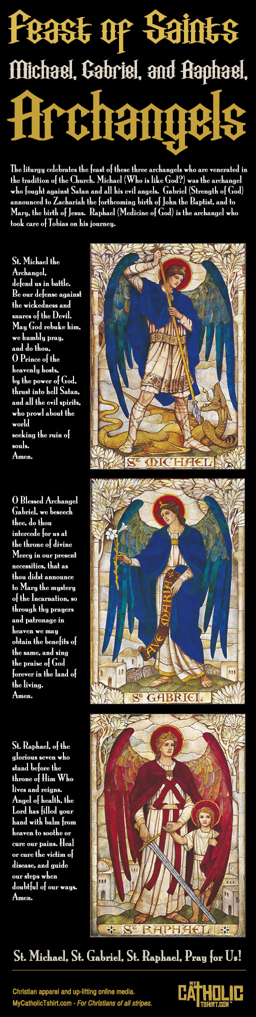 feast of three archangels
