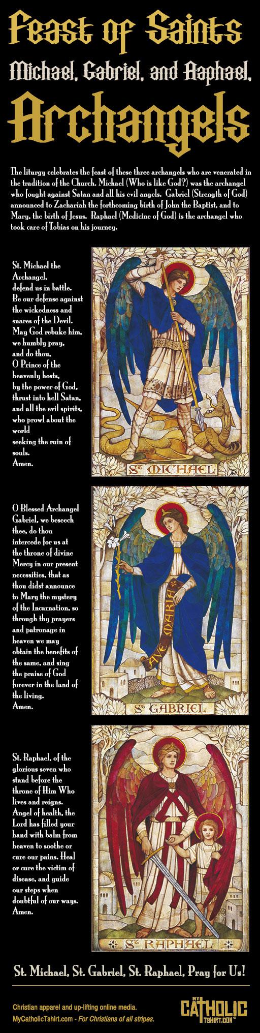 feast of three archangels