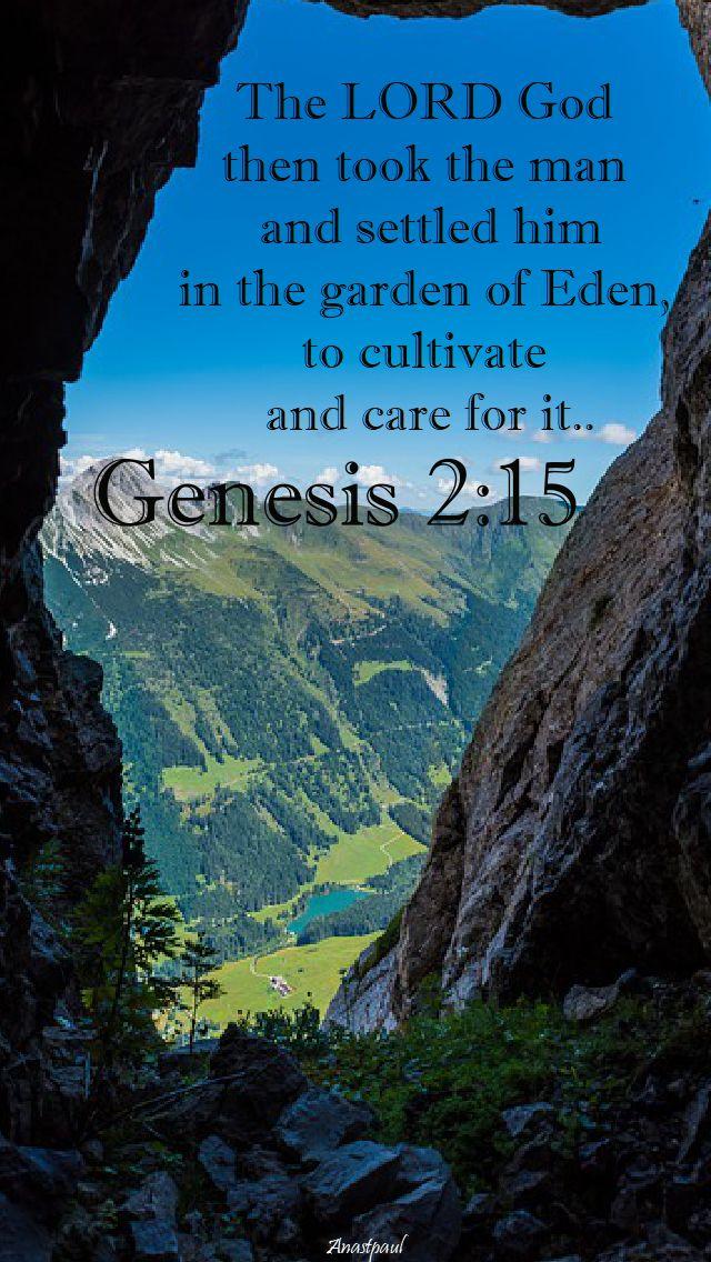 genesis 2 15