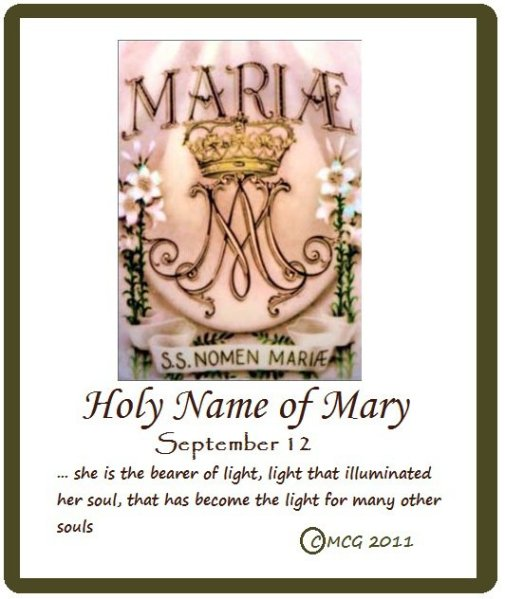 holy name sept 12