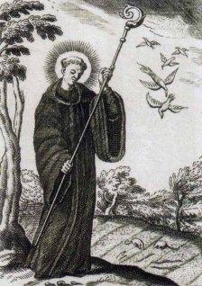 Saint of the Day – 6 September – St Magnus of Füssen – AnaStpaul