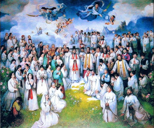 martyrs of korea