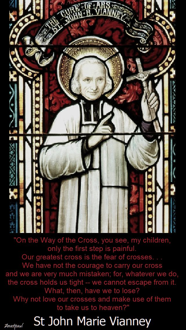 on the way of the cross-st john vianney