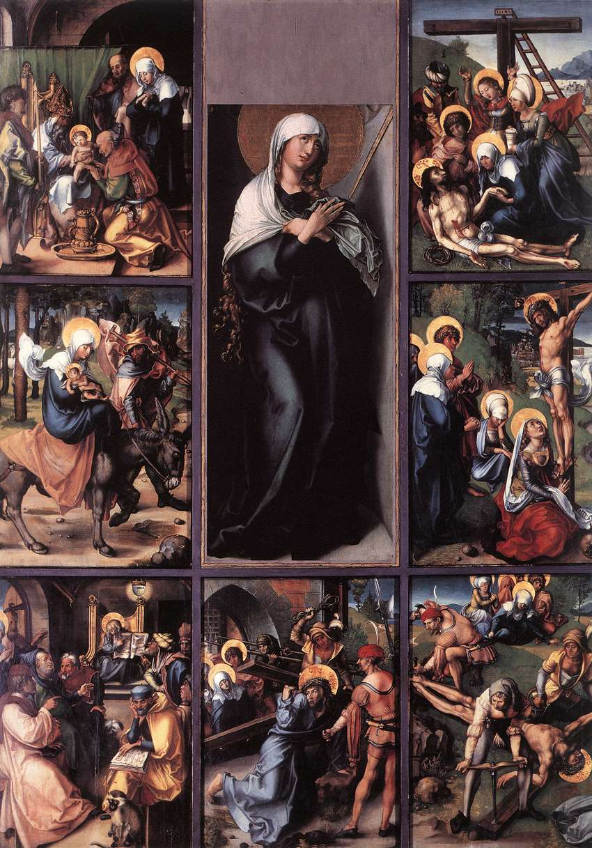 our lady of sorrows header