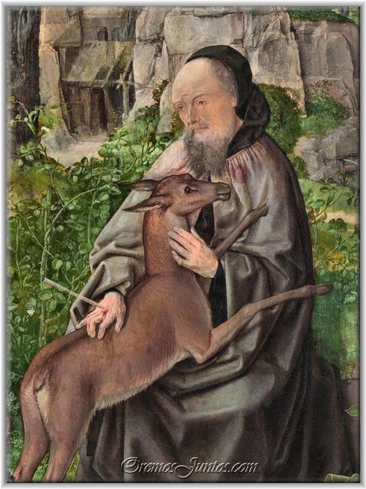 Saint Giles and the Deer.3.