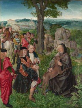 Saint Giles and the Deer