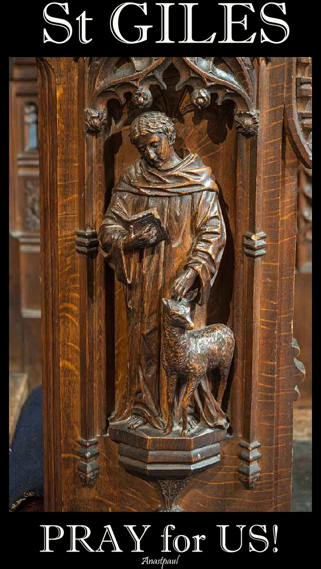 st giles pray for us