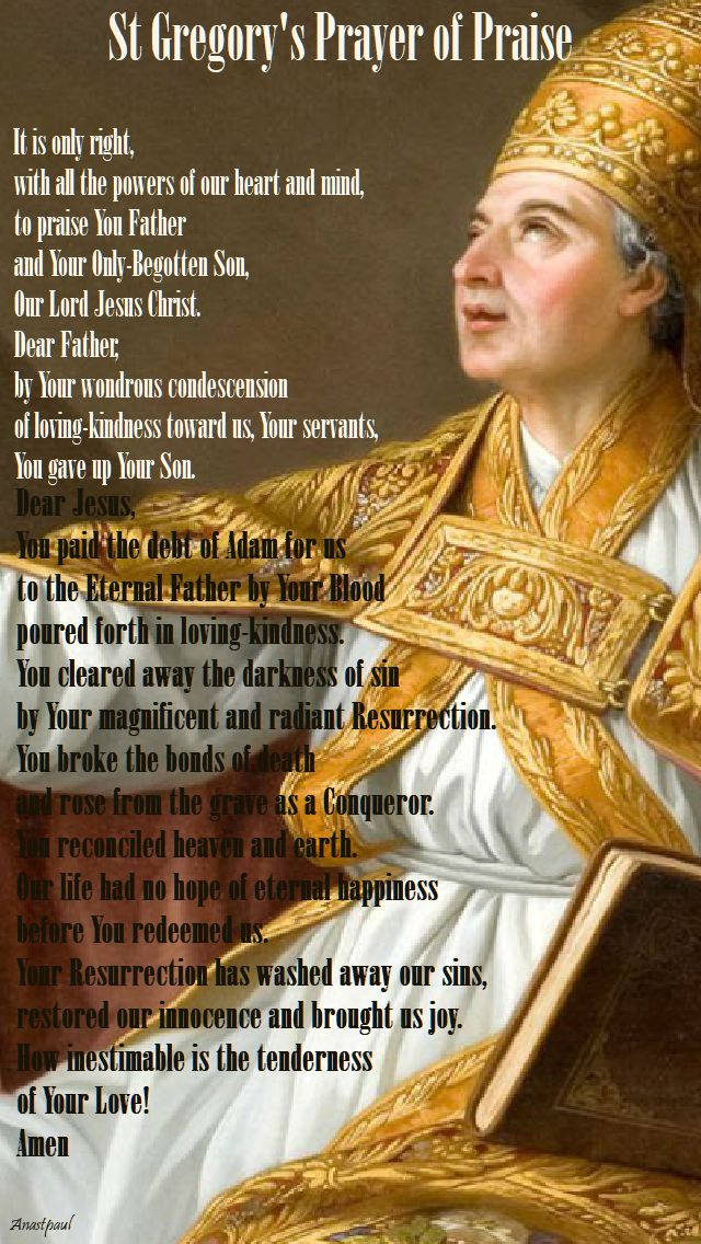 st gregory's prayer of praise.2