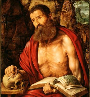 St. Jerome in Meditation c. 1550 Jan Massys c. 1509 - 1575