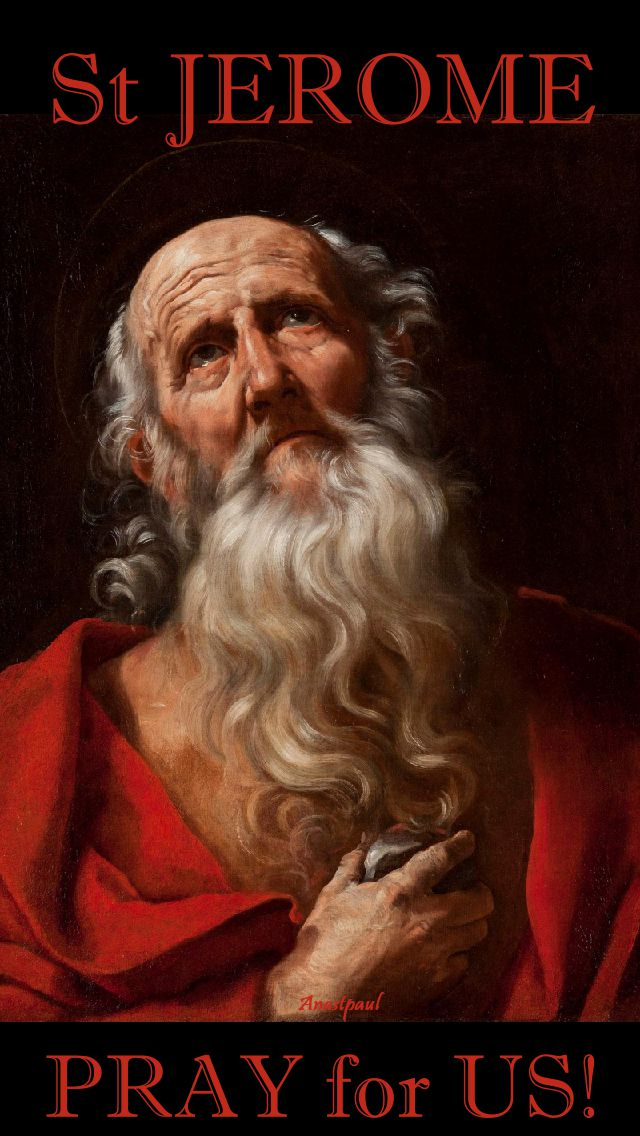 st jerome pray for us 2.
