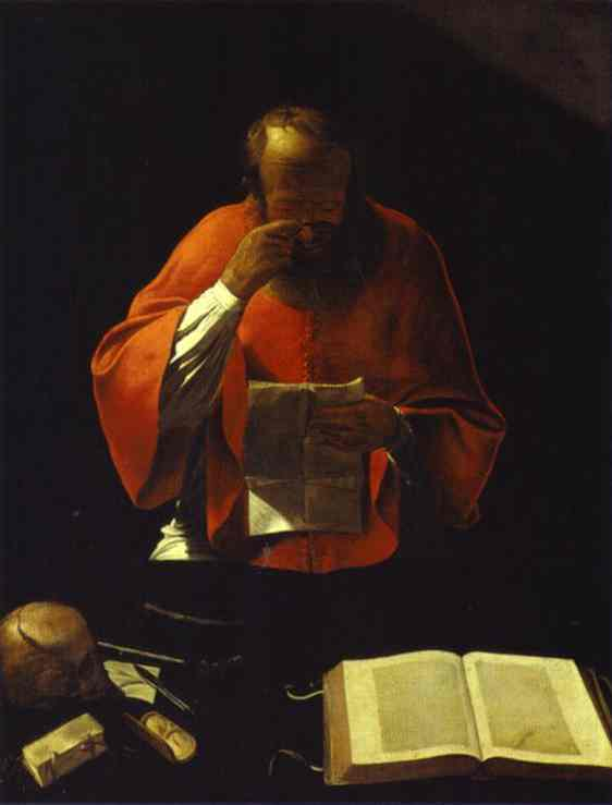St.Jerome reading, c.1635 - 1638 - Georges de la Tour