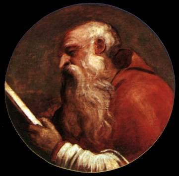 St Jerome - Ticiano Vecellio