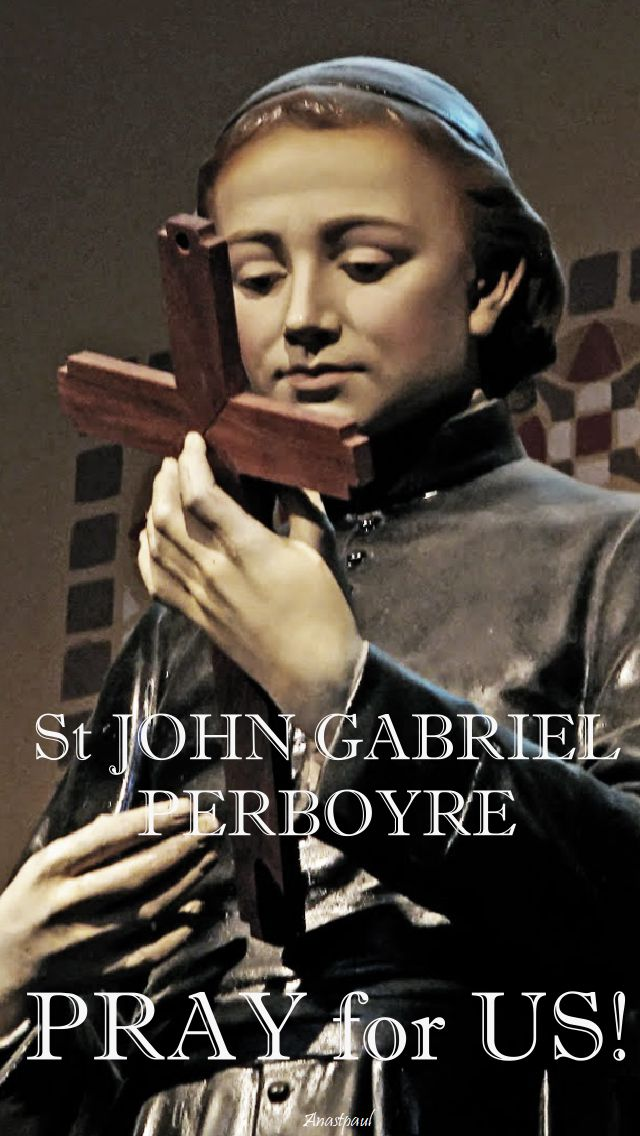 st john gabriel perboyre - pray for us.2